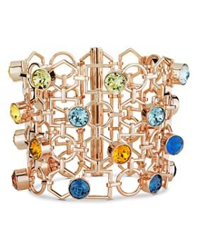 Atelier Swarovski - x Mary Katrantzou Nostalgia Wide Openwork Link Bracelet