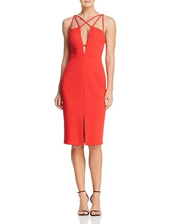 BCBGMAXAZRIA - Strap-Detail Dress
