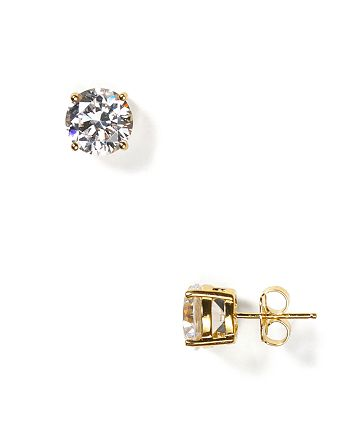 Crislu - Stud Earrings, 7mm
