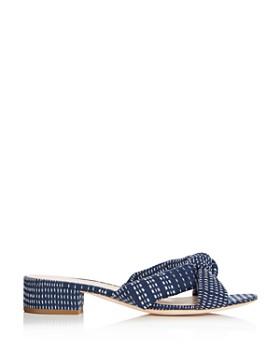 Loeffler Randall - Women's Elsie Block Heel Slide Sandals