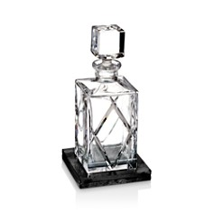Waterford Olann Decanter Square with Marble Coaster - Bloomingdale's_0