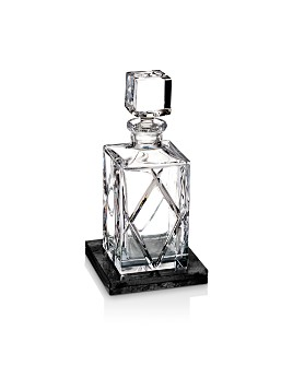 Waterford - Olann Decanter Square with Marble Coaster