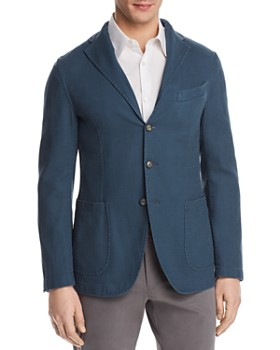 Eidos - Washed Regular Fit Sport Coat