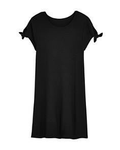 AQUA Girls' Tie-Sleeve Shift Dress, Big Kid - 100% Exclusive - Bloomingdale's_0