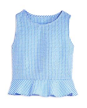 AQUA - Girls' Ruffled Gingham Top & Shorts, Big Kid - 100% Exclusive