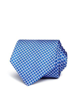 Boss Geometric Neat Geometric Silk Classic Tie