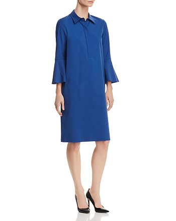 Lafayette 148 New York - Lunella Bell-Sleeve Shirt Dress - 100% Exclusive