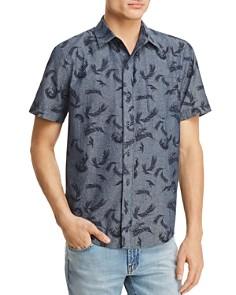 PAIGE Becker Short Sleeve Button-Down Shirt - Bloomingdale's_0