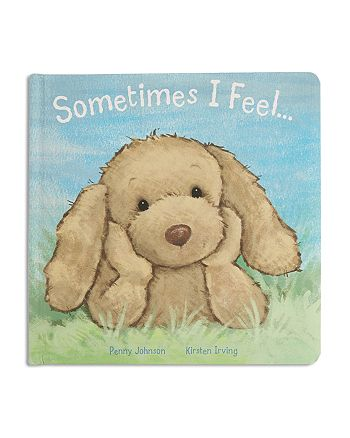 Jellycat - Sometimes I Feel Puppy Book - Ages 0+