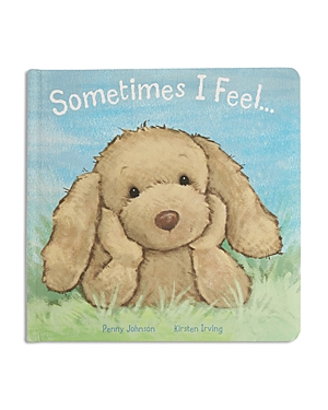 Jellycat Sometimes I Feel Puppy Book - Ages 0+