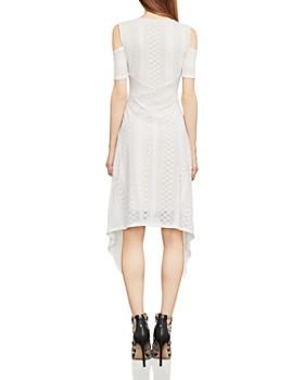 BCBGMAXAZRIA - Odette Cold-Shoulder Lace Dress