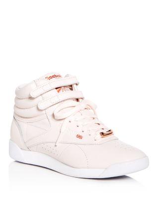 Reebok Women's Freestyle Hi Leather