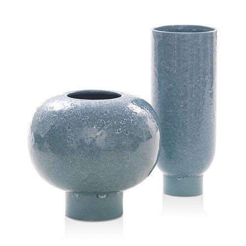 Mitchell Gold Bob Williams - Reactive Glaze Vase Collection