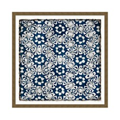Wendover Art Group Navy Pattern 2 Wall Art - Bloomingdale's_0