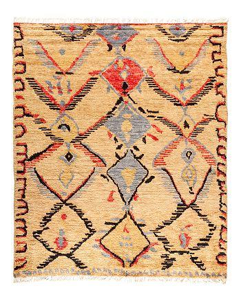 "Solo Rugs - Tribal Area Rug, 8'2"" x 9'9"""