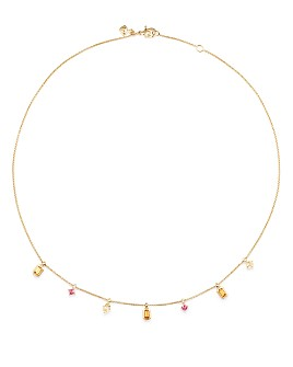 David Yurman - Novella Necklace in Spessartite Garnet and Yellow Beryl with Diamonds