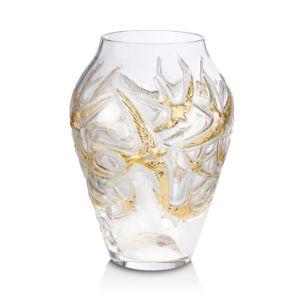 Lalique Hirondelles Vase, Limited Edition