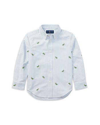Ralph Lauren - Boys' Striped Lizard Oxford Shirt - Little Kid