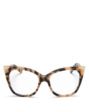 PARED EYEWEAR CAT & MOUSE COOKIES CAT EYE GLASSES, 51MM