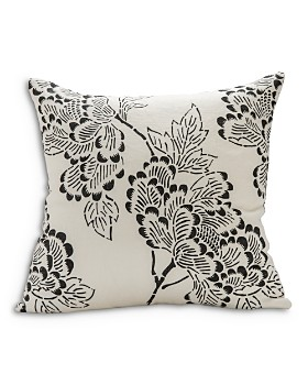 "Sugar Feather - Peony Light Decorative Pillow, 22"" x 22"""