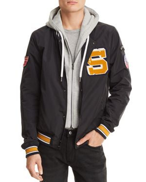 SUPERDRY UPSTATE BOMBER VARSITY JACKET
