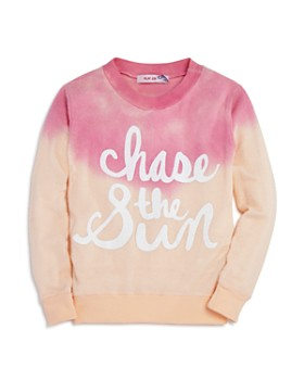 Play Six - Girls' Chase the Sun Dip-Dyed Sweatshirt - Little Kid