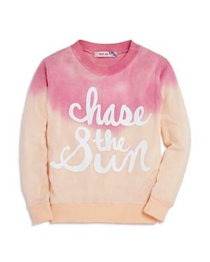 Play Six Girls DipDyed Chase the Sun Sweatshirt  Little Kid