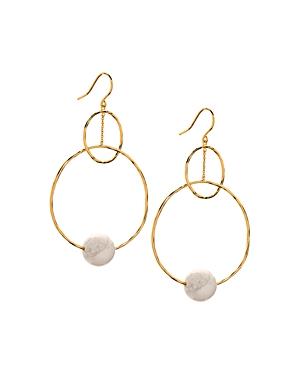 Gorjana Interlocking Drop Earrings