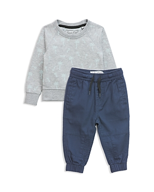 Sovereign Code Boys Palm Print Sweatshirt  Jogger Pants Set  Baby