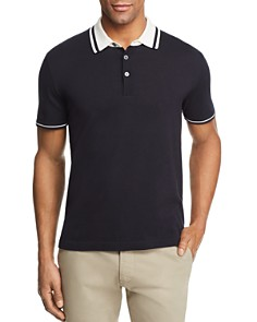The Men's Store at Bloomingdale's Knit Tipped Regular Fit Polo Shirt - 100% Exclusive_0