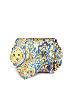 The Men's Store at Bloomingdale's Printed Paisley Classic Tie - 100% Exclusive_0
