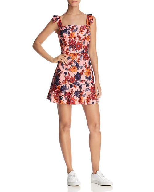 Finders Keepers - Rhapsody Floral Print Mini Dress