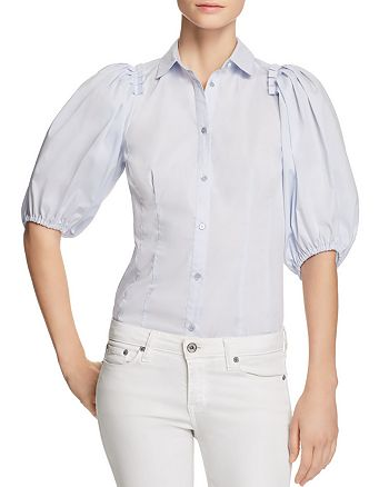 KAREN MILLEN - Balloon Sleeve Shirt - 100% Exclusive