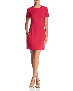 French Connection Whisper Ruth Eleanor Back-Zip Dress