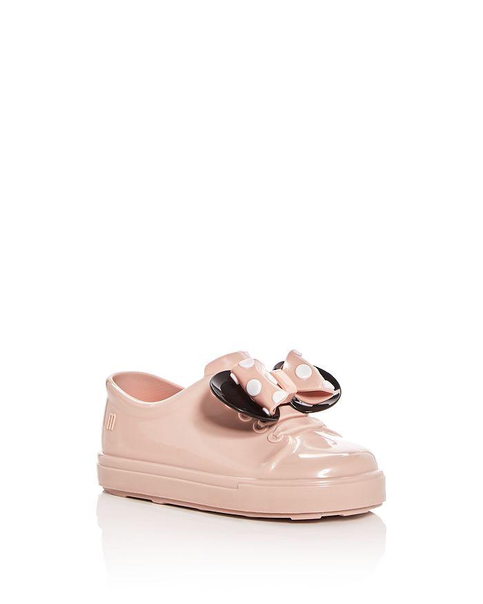 Mini Melissa - Girls' Mini Be Minnie Sneaker Flats - Walker, Toddler