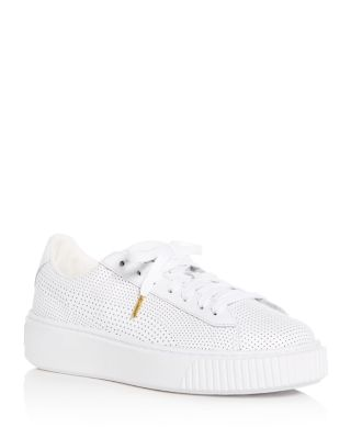 Basket Perforated Leather Lace