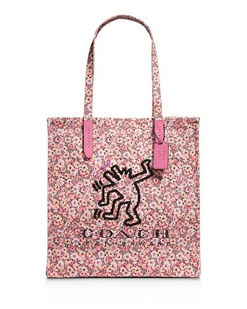 COACH - x Keith Haring Dancing Man KI Canvas Tote