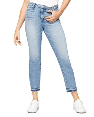 Sanctuary Released Hem Straight Jeans in Abigail Wash 2852649