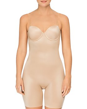 SPANX® - Suit Your Fancy Strapless Convertible Underwire Mid-Thigh Bodysuit