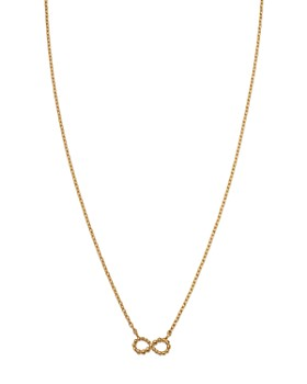 "Moon & Meadow - Infinity Pendant Necklace in 14K Yellow Gold, 16"" - 100% Exclusive"