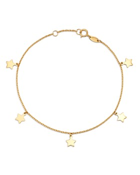 Moon & Meadow - Star Charm Bracelet in 14K Yellow Gold - 100% Exclusive