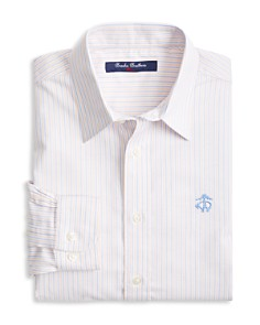 Brooks Brothers Boys' Non-Iron Striped Oxford Sport Shirt - Little Kid, Big Kid - Bloomingdale's_0