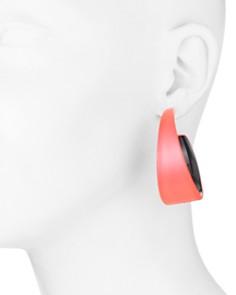 Alexis Bittar -  Lucite Hoop Earrings