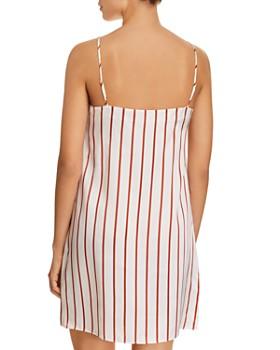 GINIA - Striped Silk Chemise