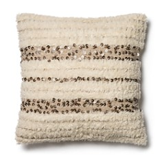 "Loloi Ivory Decorative Pillow, 22"" x 22"" - Bloomingdale's_0"