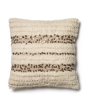 "Loloi - Ivory Decorative Pillow, 22"" x 22"""