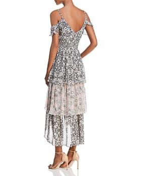 MISA Los Angeles - Idalia Cold-Shoulder Dress