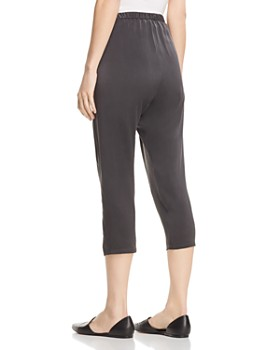 Eileen Fisher - Silk Cropped Pants