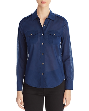 Tory Burch Brigitte Cotton Blouse