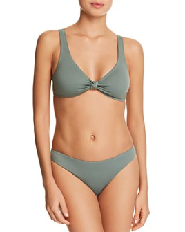 Eberjey - So Solid Calysta Bikini Top & So Solid Annia Bikini Bottom